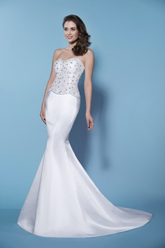 Unexceptionable Mermaid/Trumpet Sweetheart Neckline Wedding Dress