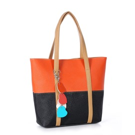 Ericdress Color Block Handbag