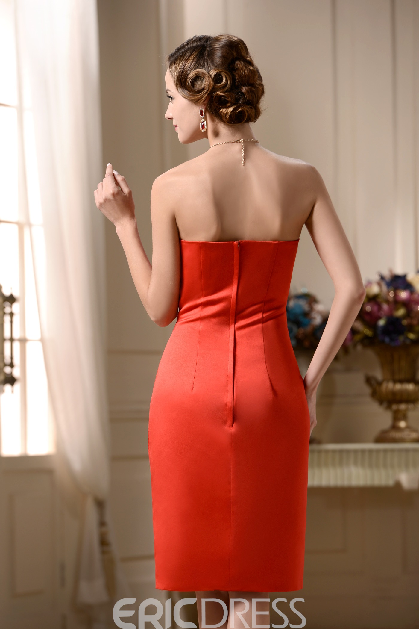 Incredible Sheath/Column Straps Knee-Length Mother of the Bride Dress With Jacket/Shawl