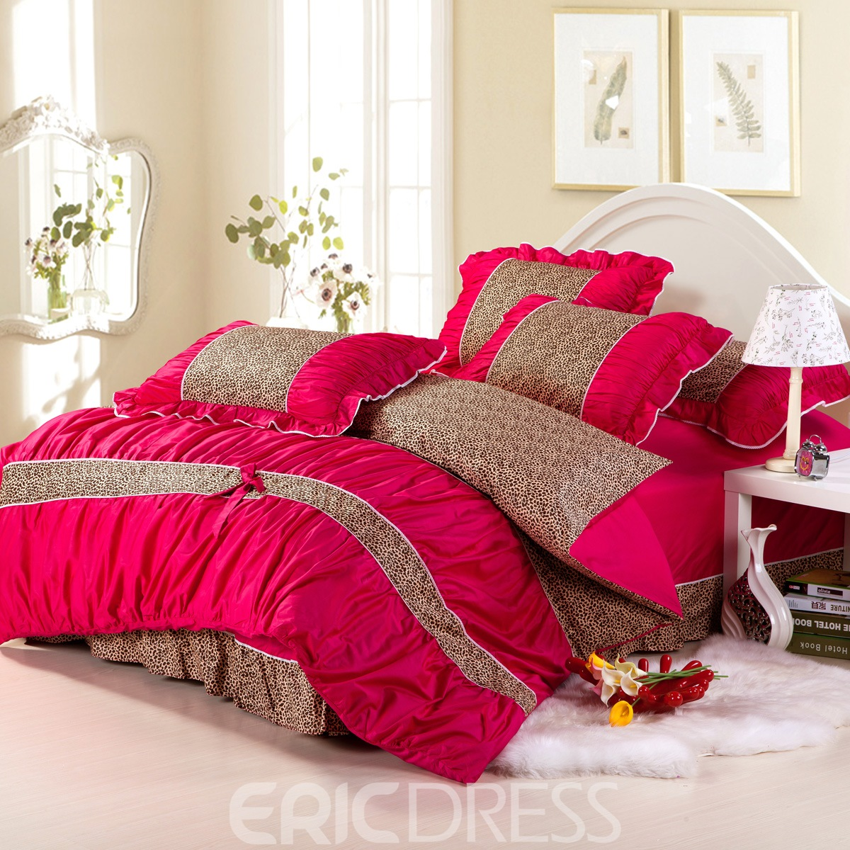 Leopard and red bedding - Leopard And Red Bedding 44