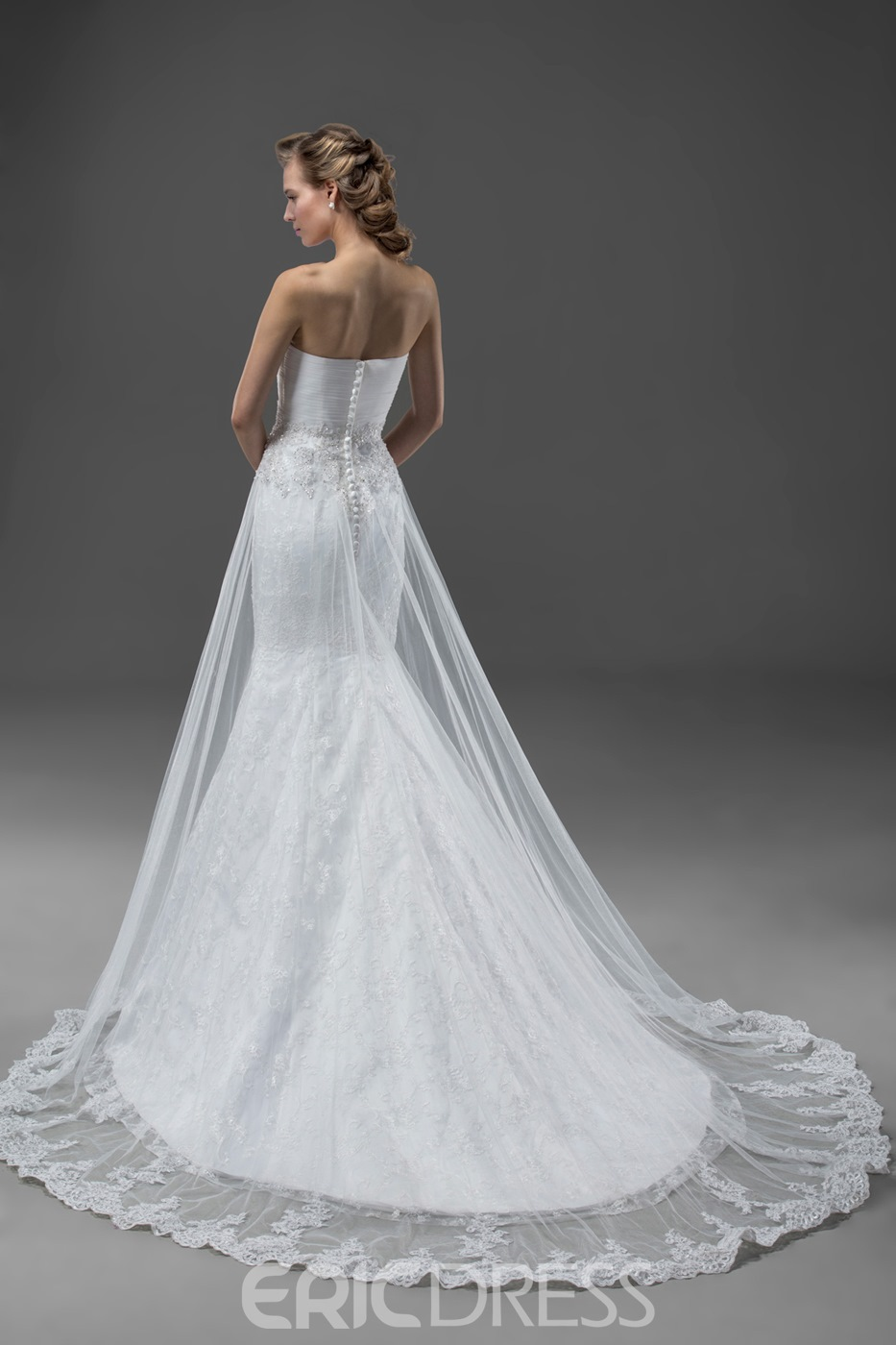 High-quality Mermaid Sweetheart Wedding Dress