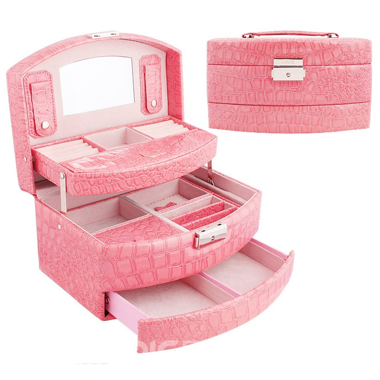 Vogue Noble Croco Princess Jewelry Boxes