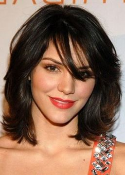 Ericdress Short Natural Wavy Remy Human Hair Capless Wig 14 Inches