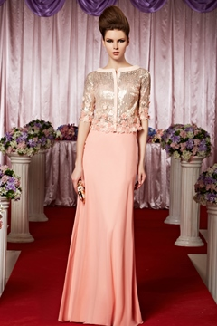 Most Popular Sheath/column Floor-length Evening Dress