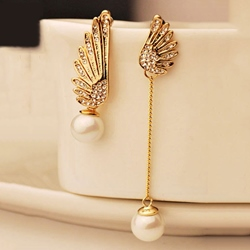 Ericdress Alloy Wing Party Earrings фото