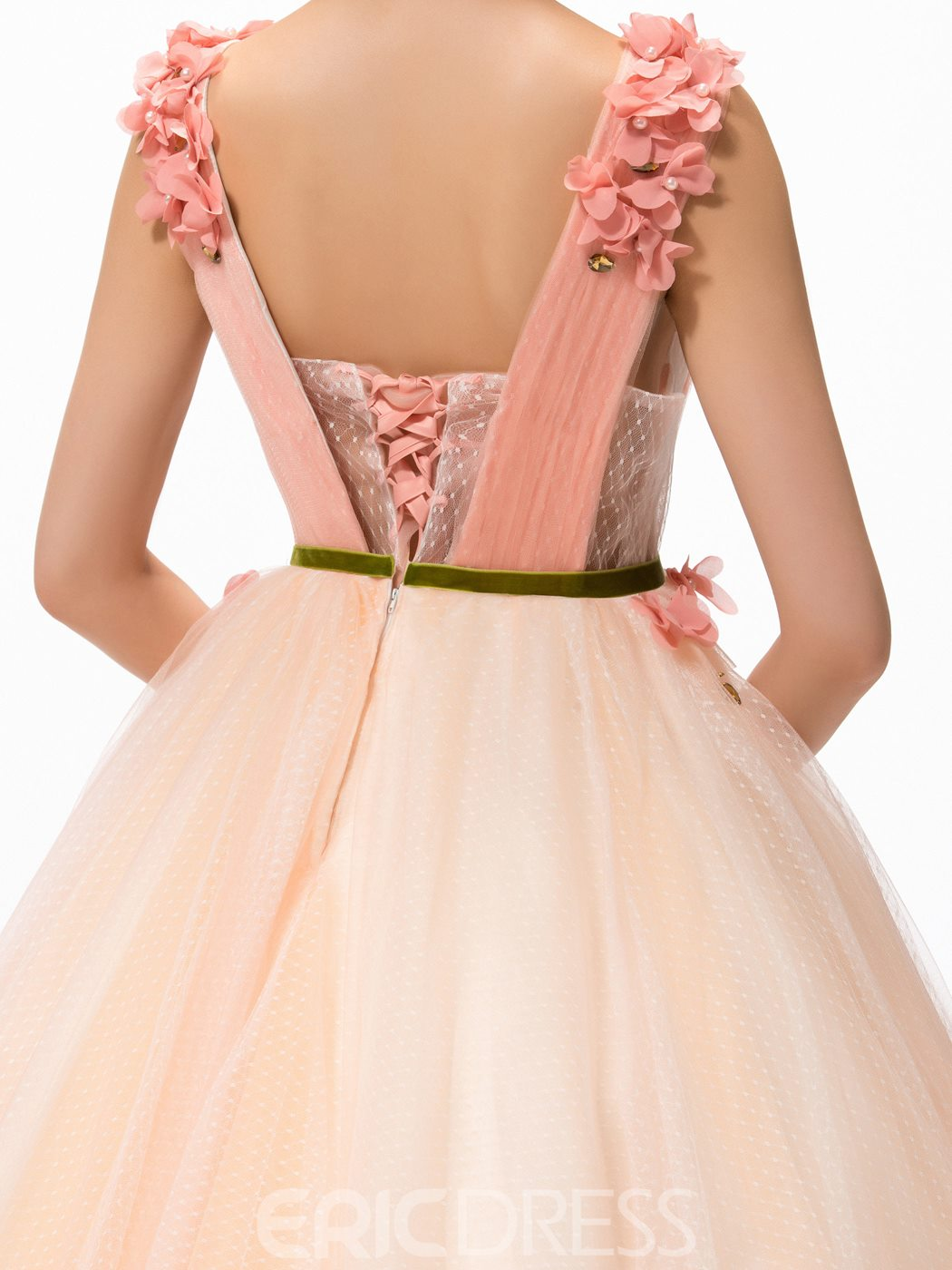 Charming A-Line Straps Ball Gown Quinceanera Dress