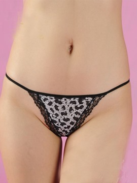 Unique Print Laciness Women Panty