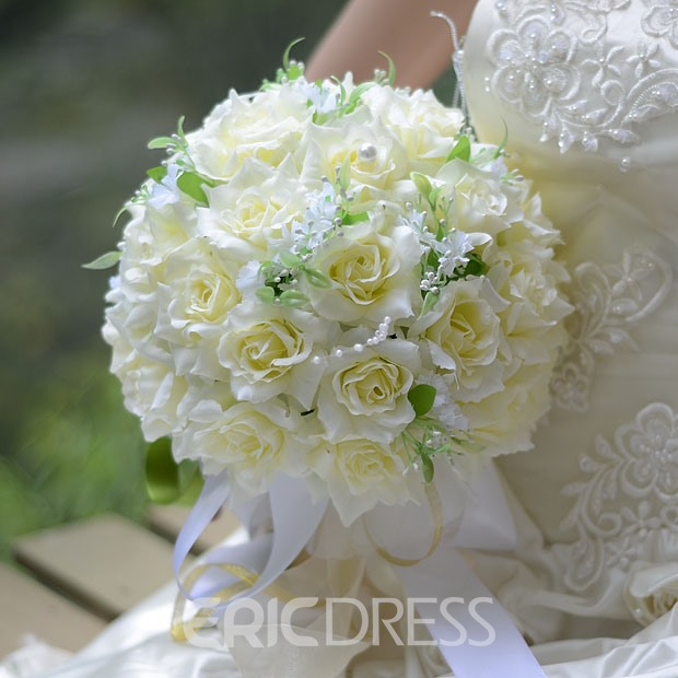 Best Cloths Flowers Wedding Bouquet