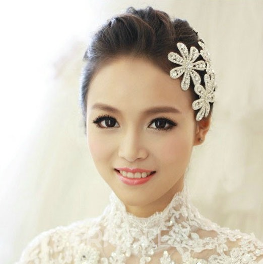 Luxurious Rhinestone Wedding Hairpin