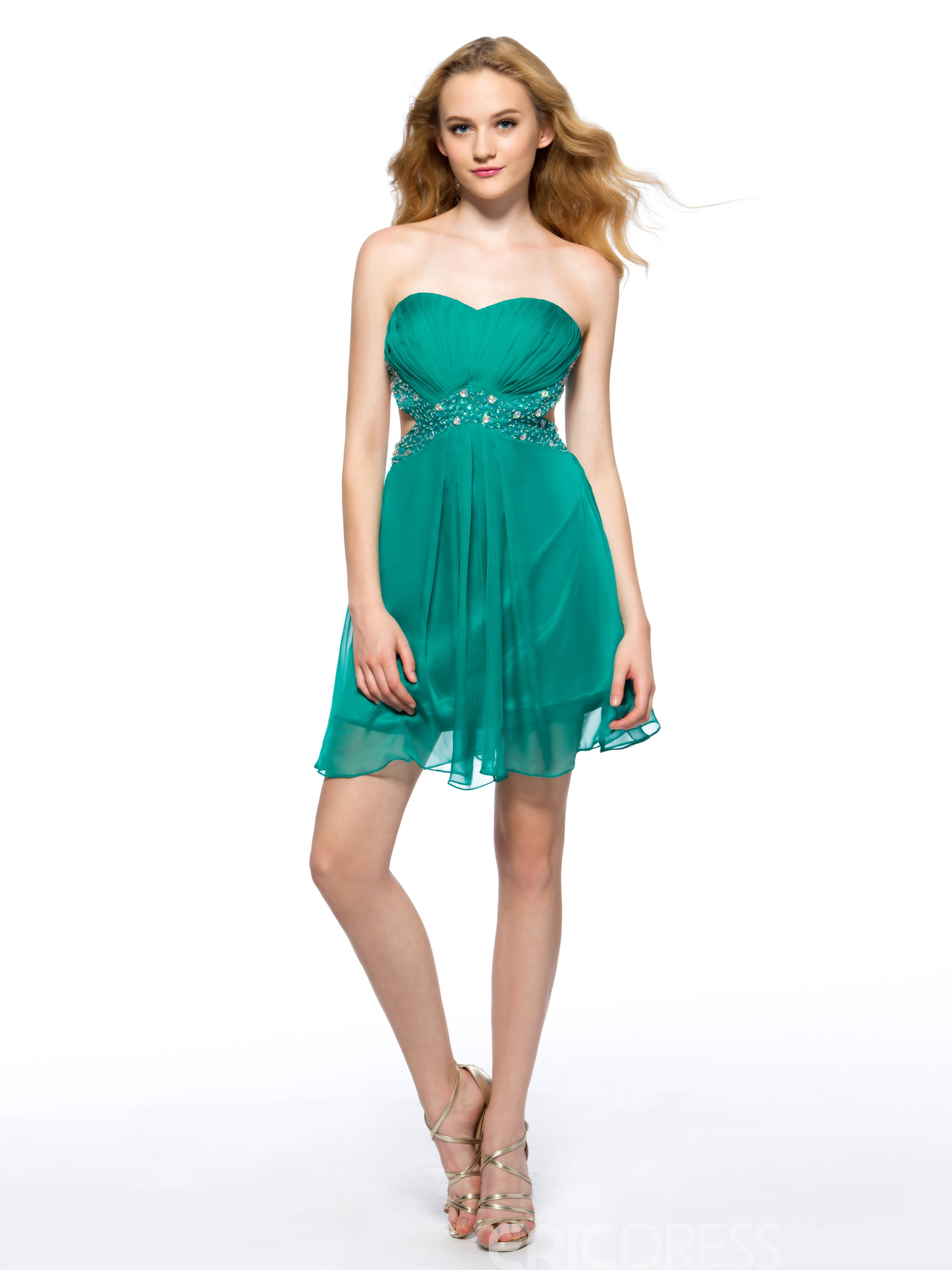 Ericdress A Line Sweetheart Short Homecoming Dress