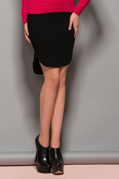 Ericdress Fashion Solid Color Split Skirt