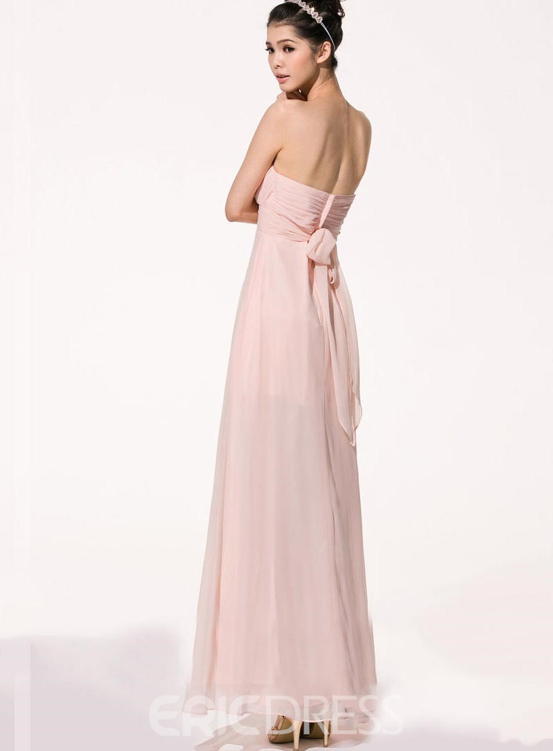 Pretty Asymmetry Sweetheart Bridesmaid Dress