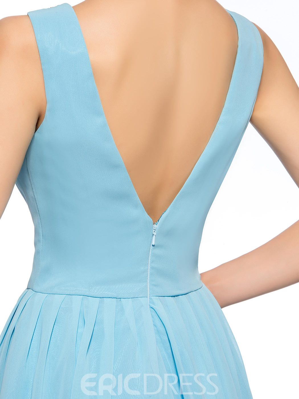 Charming A-line Bateau Neck Beadings Short Homecoming Dress