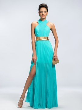 Ericdress Classy Vogue A-Line Split-Front Evening Dress