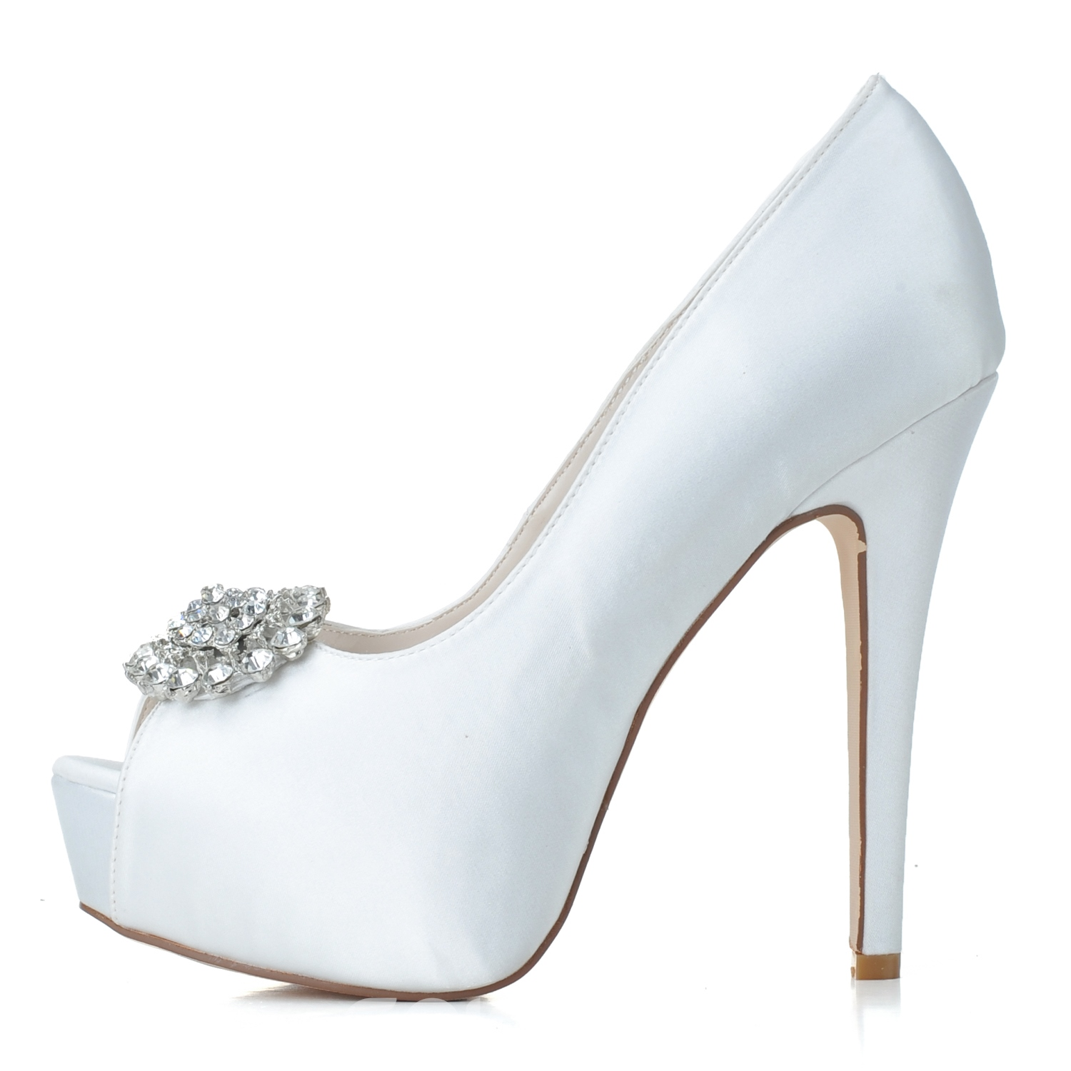 Ericdress Comfortable High Heel Wedding Shoes 11350033 - Ericdress.com