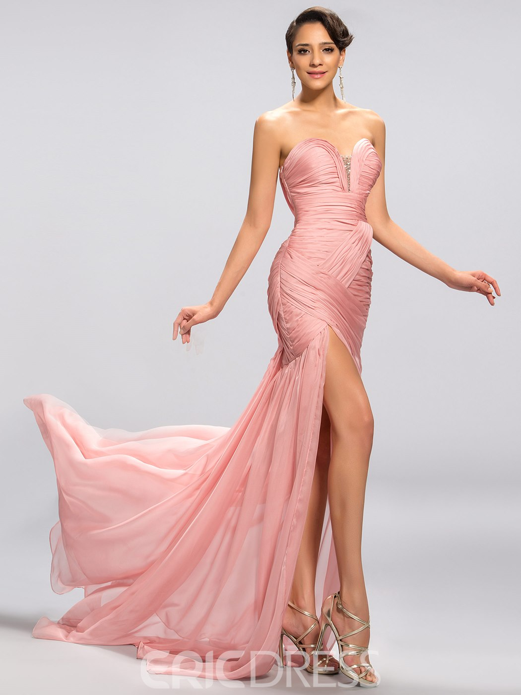 Strapless Sweetheart Mermaid Trumpet Evening Dress 11052963 ...