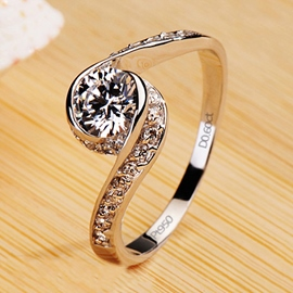 Diamond Engagement/Wedding Ring