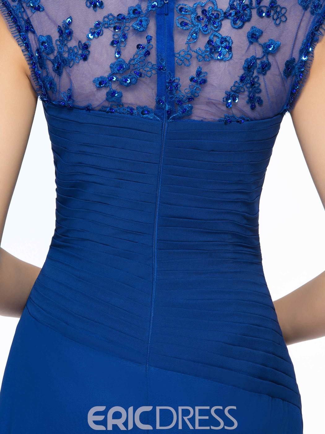 Concise Beading Sweetheart Neckline Straps A-Line Mother Of The Bride Dress