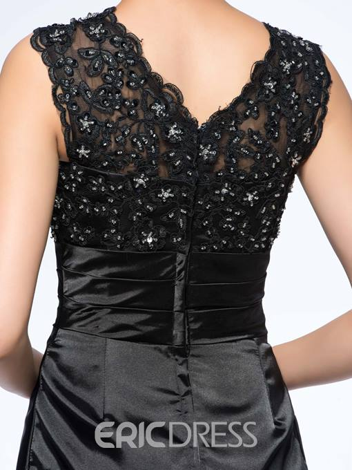 Classical Sheath Lace Beading Mother Of The Bride Dress
