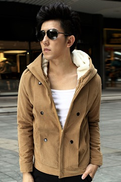 Ericdress Casual Thick Jacket Men's Hoodie