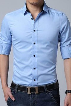 Vogue Leisure Business Long-sleeved Shirt
