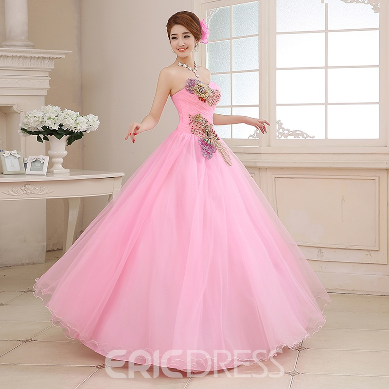 Classy Sweetheart Embroidery Ball Gown Quinceanera Dress