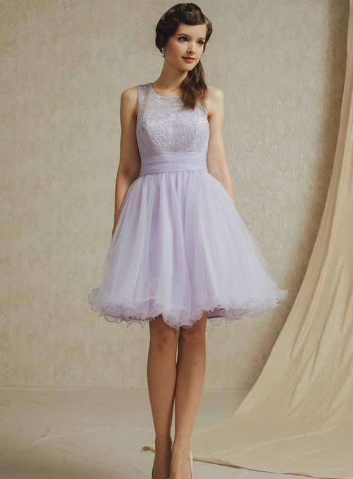 Ericdress A-Line Straps Lace Short Homecoming Dress