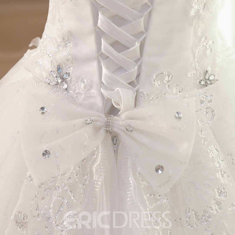 Ericdress Pretty Sweetheart Appliques Wedding Dress