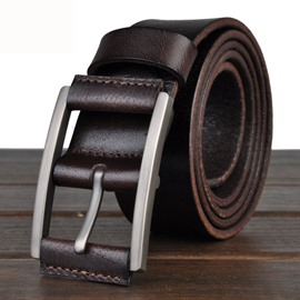 Ericdress Vintage Nubuck Leather Men's Belt