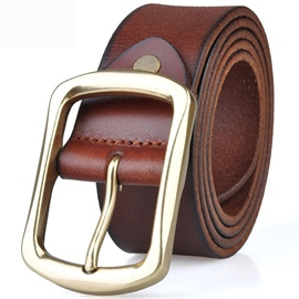 Ericdress Vintage Men's Leather Belt