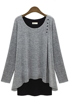 Ericdress Vogue Long-sleeved T-shirt