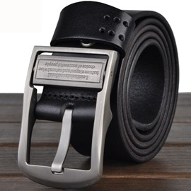 Ericdress Men's Nubuck Leather Belt