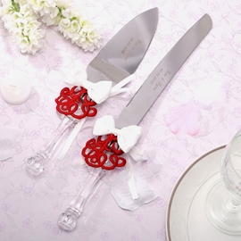 Classic Red Embroider Serving Sets