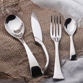 European Style Stainless Steel Serving Sets