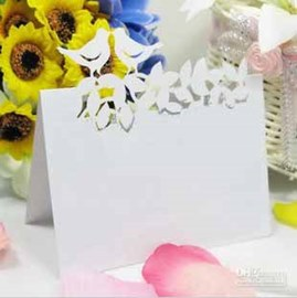 Love Bird Pearl Paper Place Cards (set of 10)