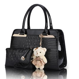 Stylish Large Capacity Croco Handbag for Women