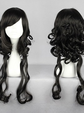 Ericdress Japanese Lolita Style Black Color Cosplay Wigs 26 Inches