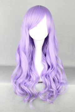 Ericdress Japanese Lolita Style Long Wave Purple Color Cosplay Wigs 28 Inches