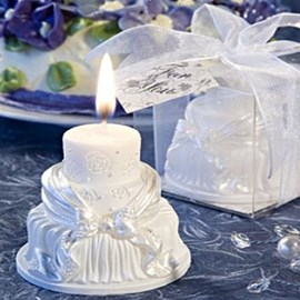 Ericdress Beautiful White Wedding Candle