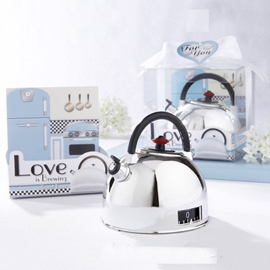 Creative Wedding Favor Kettle Timer