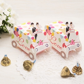 Spedding To Happiness Favor Boxes