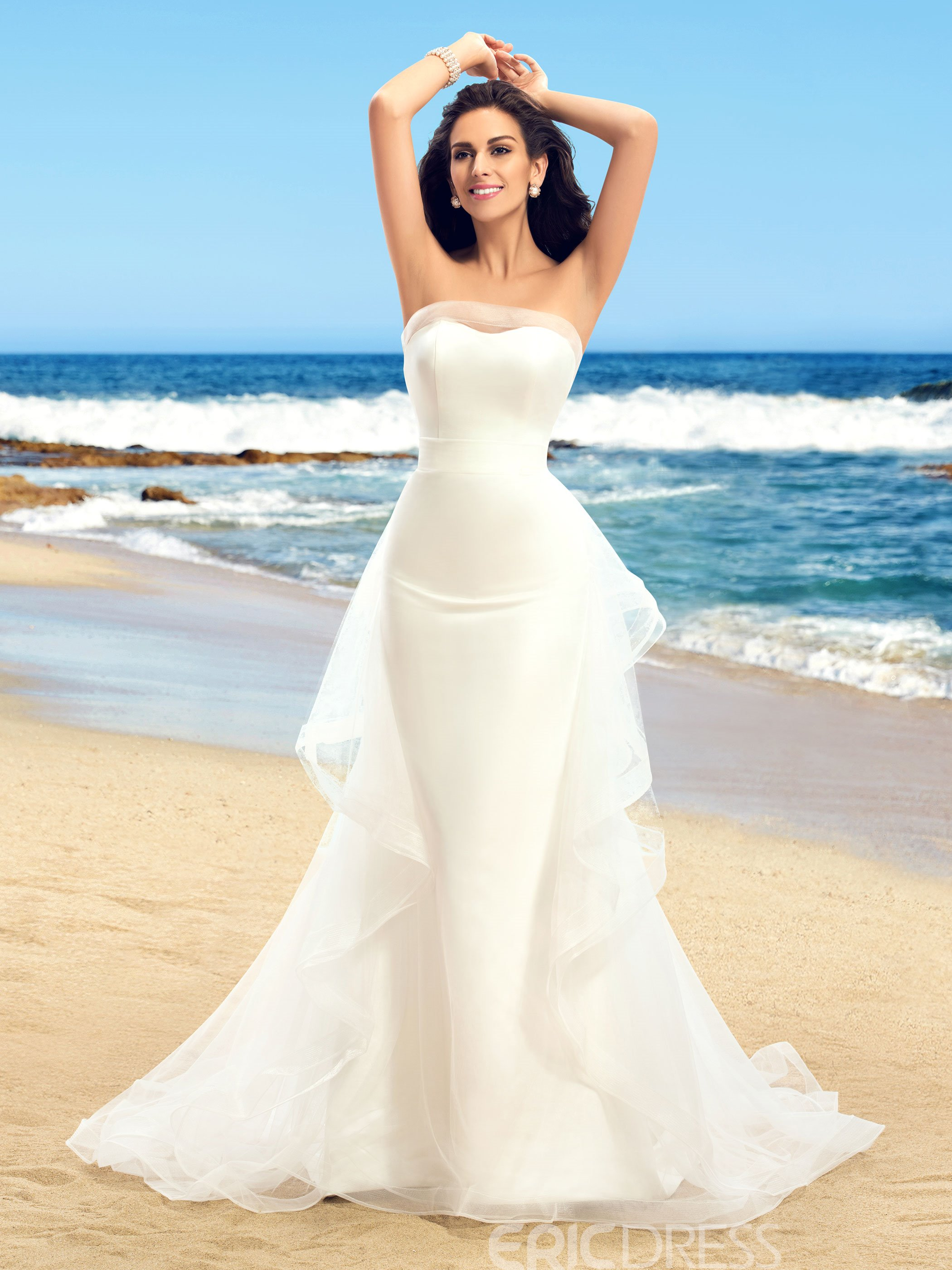 Jewel Halter Dress Beach Wedding One