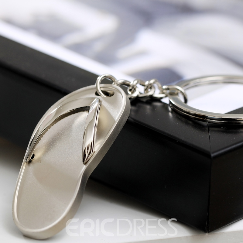 Personalized Shoes Zinc Alloy Keychains