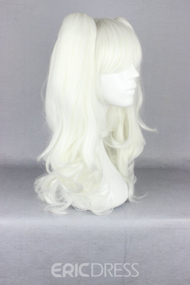 Ericdress Japanese Lolita Style White Color Cosplay Wigs 20 Inches