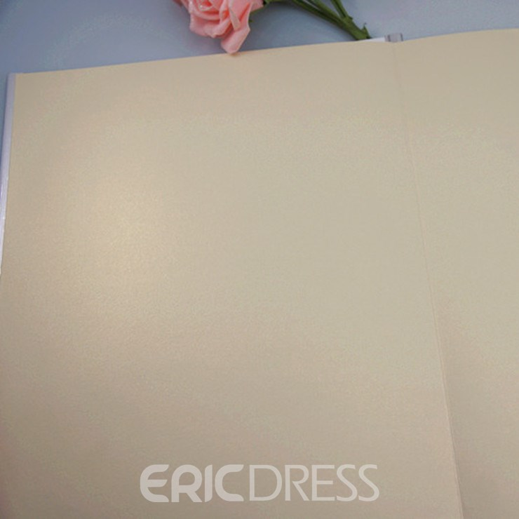 Series of Black and White Dress Wedding Guest Book