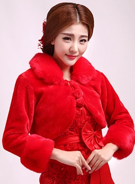 Comfortable Long Sleeves Wedding Jacket