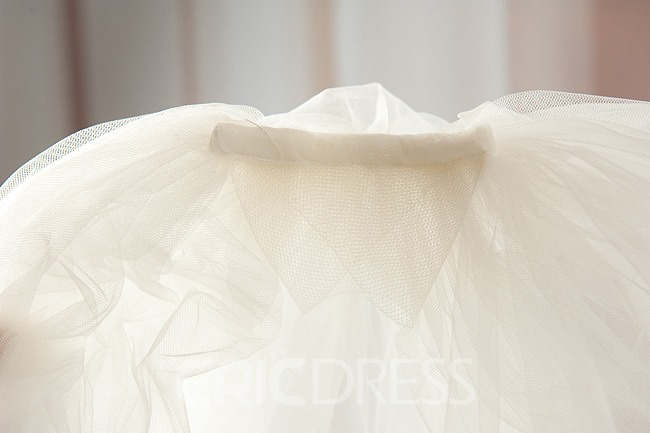 Unique Tulle Wedding Veil