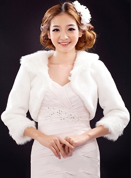 Long Sleeves Wedding Jacket