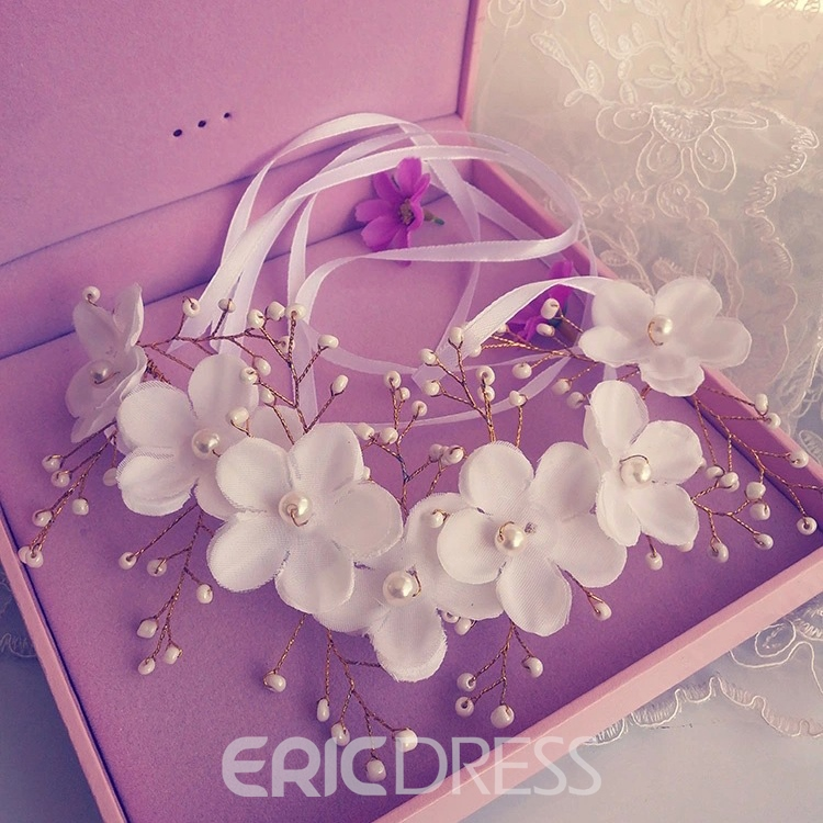 Ericdress Charming Pearls Hair Flowers