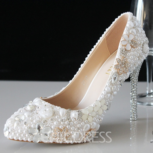 Ericdress Pearls Wedding Shoes